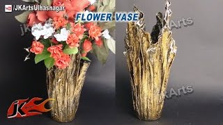 DIY Up-Drip Flower Vase from waste cloth | How to Make | JK Arts 491