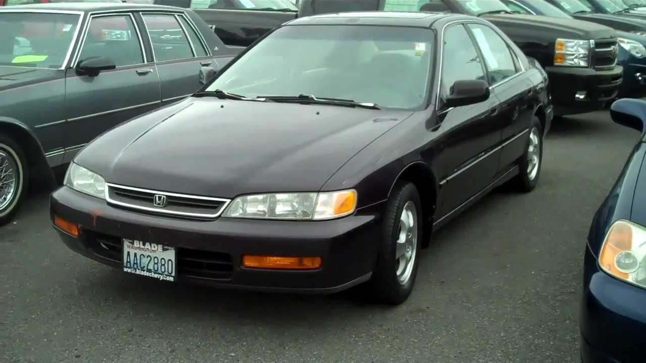 1997 Honda Accord Sedan Youtube