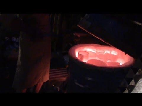 Печь газовая для плавки
