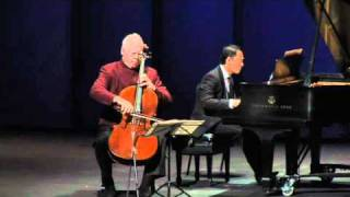 "Lynn Harrell  -  Webern: ""Drei kleine Stucke"" (Three little pieces), Op. 11"