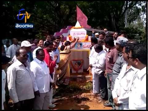 Fans Built Temple For Telangana CM K Chandrasekhar Rao