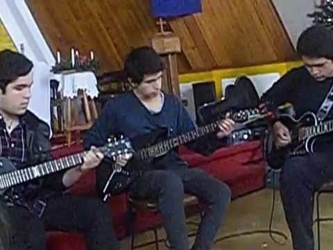 guitarra alumnos 3medio COLEGIO LUTERANO VALPARAISO