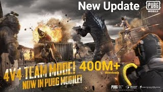 PUBG Mobile new update 4v4 team deathmatch