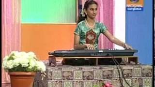 Keyboard Mahathi on Podhigai TV Channel