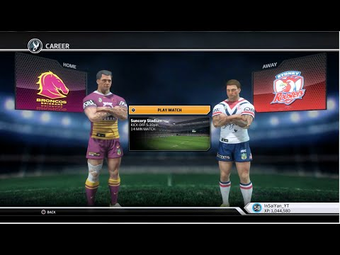 Rugby League Live 3 - Roosters Career (Round 6)