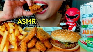 I'M PREGNANT ASMR *emotional* Kid's Meal Cheeseburger & Chicken Nuggets suellASMR