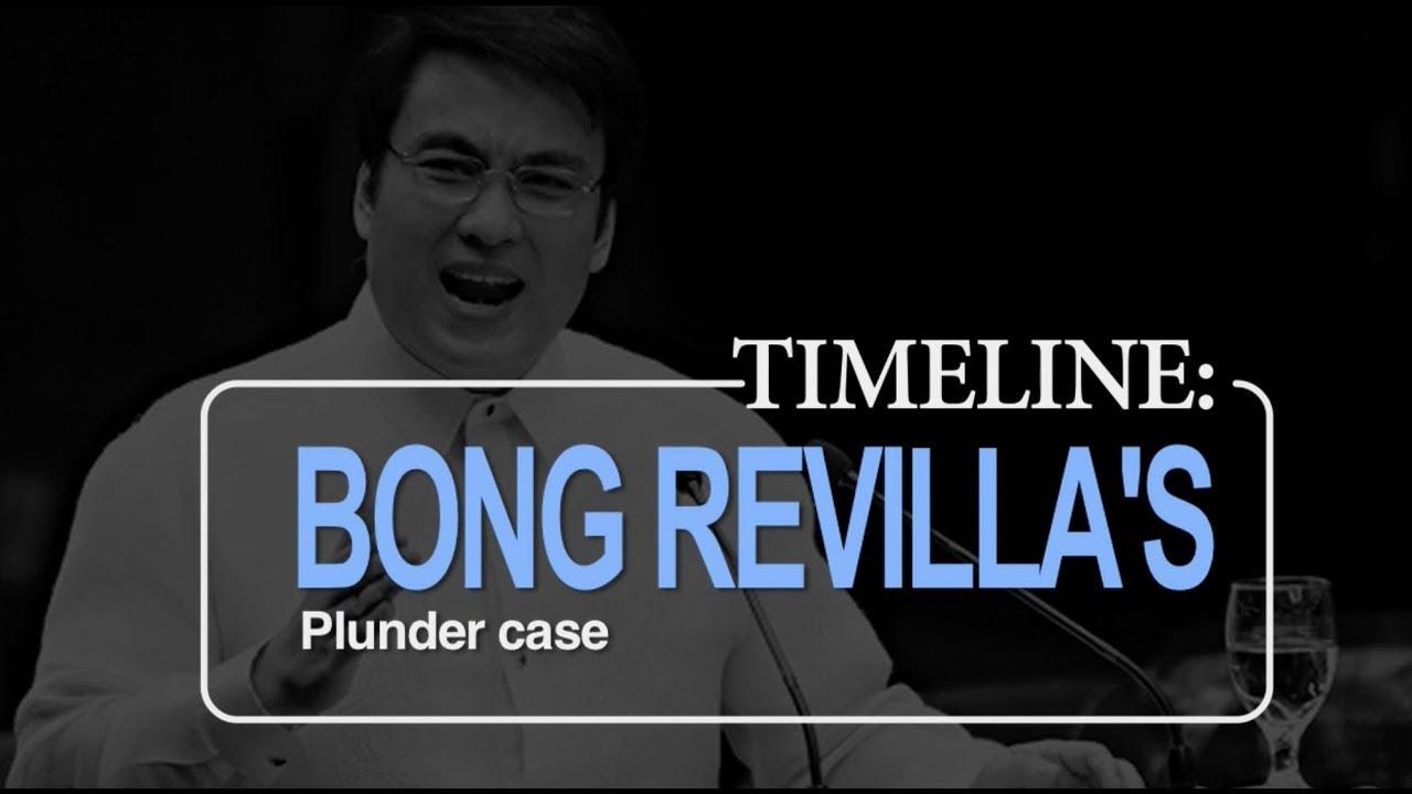 Bong Revilla's plunder case: A timeline
