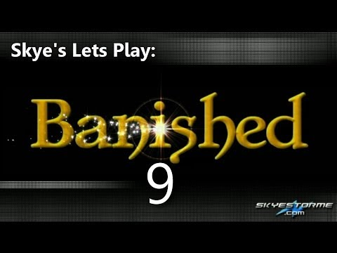 Skye's Lets Play Banished 09 - Cattle and Sheep (108 Pop)