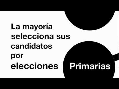 Las elecciones primarias en EE.UU.