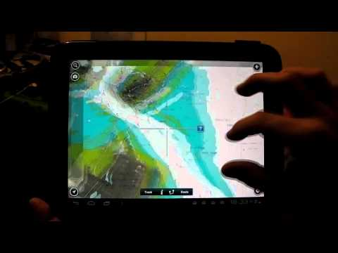 Navionics on HP Touchpad (Android ICS 4.0.4)