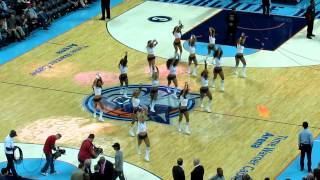 "Bobcats vs Spurs 12-8-12 LadyCats Performace ""I can't get no Satisfaction"""