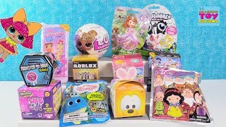 Disney Num Noms LOL Surprise Glitter Tsum Tsum Blind Bag Toy Review | PSToyReviews
