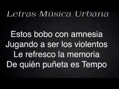El Entierro (Letra) (Tiraera A Cosculluela) - Tempo
