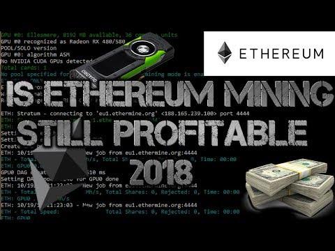 Is Ethereum Mining Still Profitable - Is It Worth It (April 2018)
