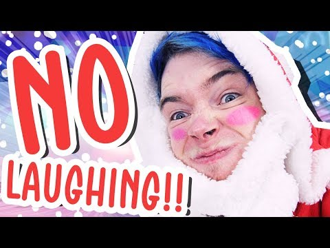 TRY NOT TO LAUGH CHALLENGE!!! (Christmas Edition)