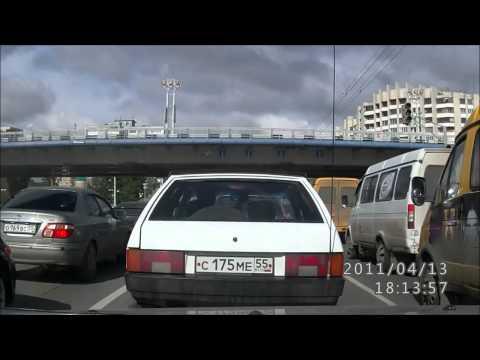 Переворот скорой помощи Омск (авторегистратор)