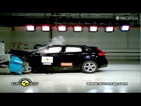 India-bound Volvo V40 declared as the world's safest car