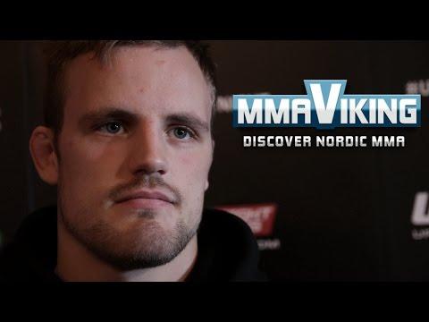 Gunnar Nelson UFC Sweden 3 Pre Fight Interview