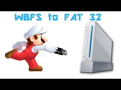 Convert WBFS to FAT 32 WITHOUT Losing Your Wii Games