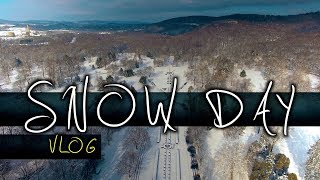 SNOW DAY Vlog - Filming in the Snow in Reading, PA