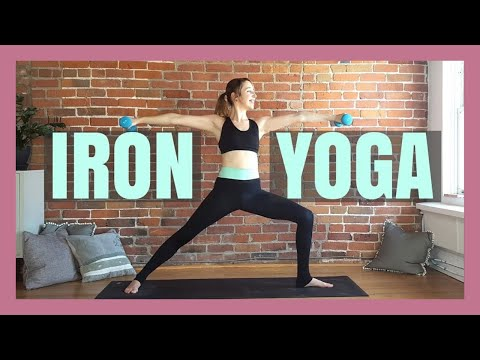 Iron Yoga - Yoga with Weights Power Sculpt & Toning