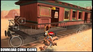 Cara Downlodad Dan Install Game TOY STORY 3 PPSSPP Android