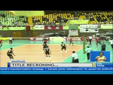 Kenyan Women Volleyball Team to meet Cameroon in Semis