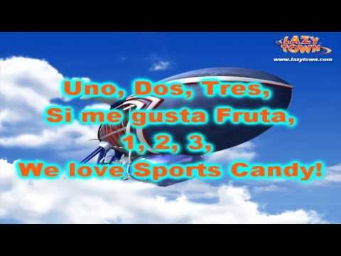We Love Sports Candy - New Lazytown Song video