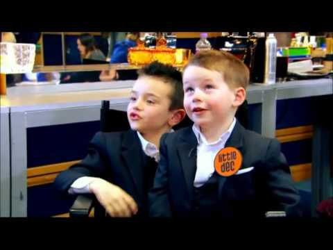 Little Ant And Dec Interview Simon Cowell & David Walliams