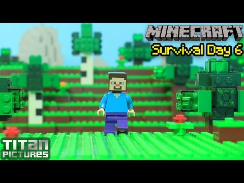 Lego Minecraft Survival 6