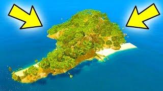 A SECRET ISLAND IN GTA 5!! (Hidden Island - GTA 5 Mods)