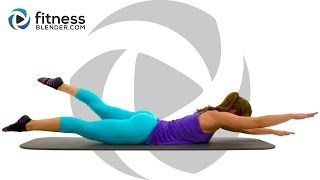 10 Minute Abs Workout: At Home Pilates Abs Workout for a Healthy Back