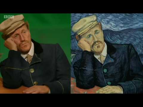 BBC piece about Loving Vincent, the world's first fully painted feature film,