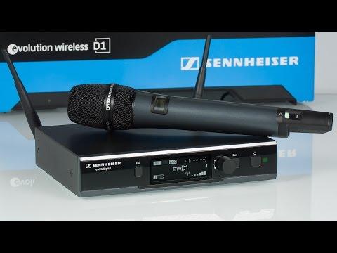 Sennheiser Evolution Wireless D1 — цифровая беспроводная радиосистема для музыкантов