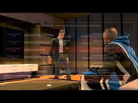 PS4 NBA 2K15 MyCAREER Off-Season: Free Agency! Recruiting and New Team?