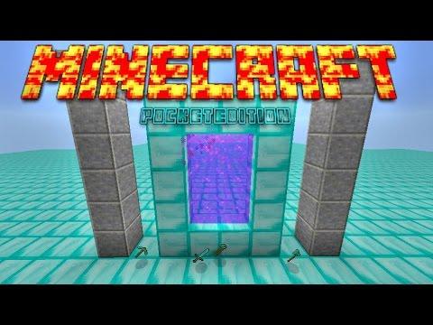 Как сделать водяной портал в minecraft 152