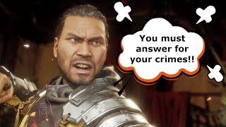Mortal Kombat 11 - Characters Never Forgive Past Mistakes