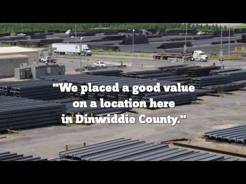 Working in Dinwiddie: Gerdau