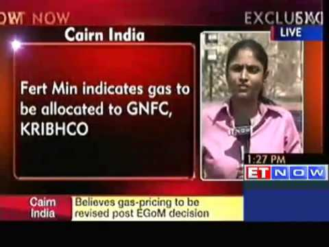 Cairn India to begin Gas Production from March End