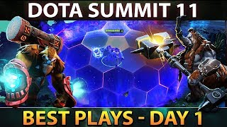 DOTA Summit 11 Qualifiers - Best Plays Day 1