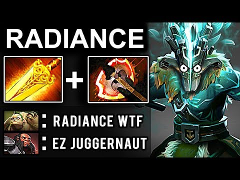 RADIANCE JUGGERNAUT DOTA 2 PATCH 7.07 NEW META PRO GAMEPLAY