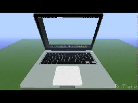 Macbook Pro RETINA in Minecraft Music Videos