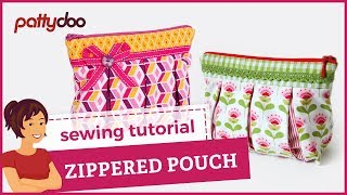 The Zipper Pouch An Easy Quilting Project Tutorial By