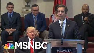 Ex-Donald Trump Lawyer Michael Cohen Postpones House Testimony | Velshi & Ruhle | MSNBC