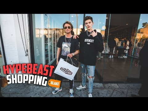 Hypebeast Shopping With Foodgod