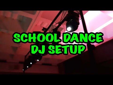 Gig Log - 4/20 School Dance DJ Setup