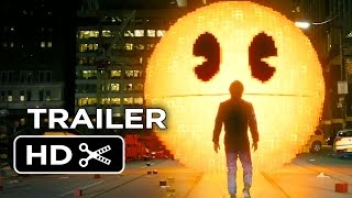 Video clip Pixels Official Trailer #1 (2015) - Adam Sandler, Peter Dinklage Movie HD