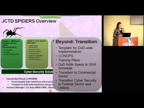 ERDC-CERL Microgrids at Fixed Installations: Security and Economics