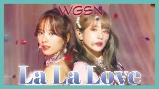 Comeback Stage Wjsn La La Love 우주소녀 La La Love Show Music Core 20190112