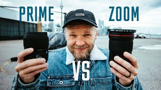 PRIMES VS ZOOMS - Which Lenses are BEST?